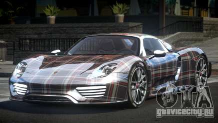 Porsche 918 Spyder SR L4 для GTA 4