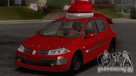 Renault Megane Christmas Edition для GTA San Andreas