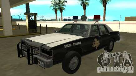 Ford LTD Crown Victoria 1987 Texas State Trooper для GTA San Andreas