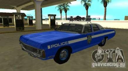 Dodge Polara 1972 New York Police Dept для GTA San Andreas