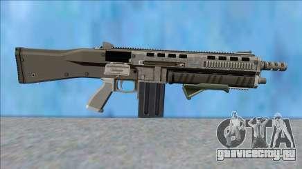 GTA V Vom Feuer Assault Shotgun Platinum V10 для GTA San Andreas