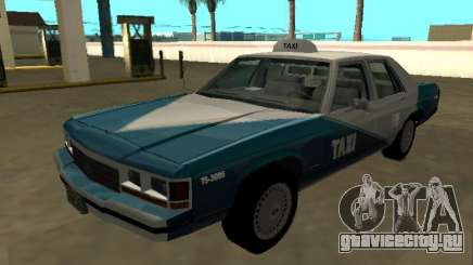 Ford LTD Crown Victoria 1991 Cab.Co California для GTA San Andreas