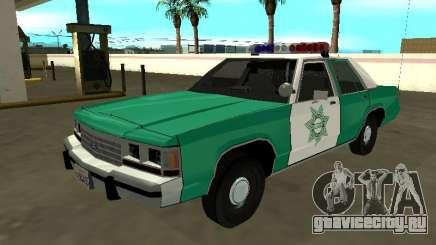 Ford LTD Crown Victoria 1991 San Diego County SF для GTA San Andreas