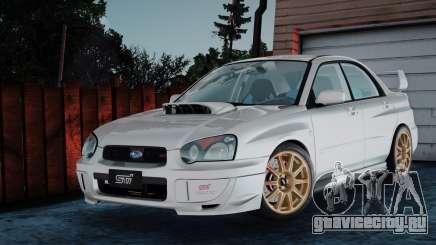 Subaru Impreza WRX STi 2003 для GTA San Andreas