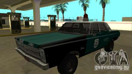 Plymouth Belvedere 4 door 1965 Old NYPD для GTA San Andreas