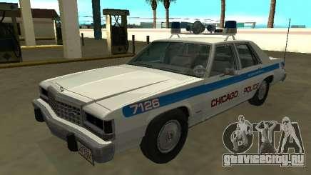 Ford LTD Crown Victoria 1987 Chicago Police Dept для GTA San Andreas