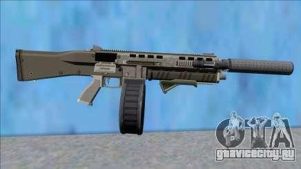 GTA V Vom Feuer Assault Shotgun Platinum V13 для GTA San Andreas