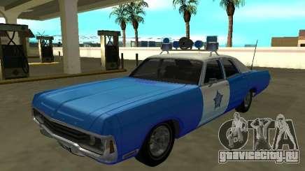 Dodge Polara 1972 Chicago Police Dept для GTA San Andreas