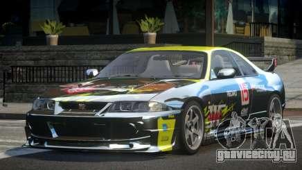 1997 Nissan Skyline R33 L7 для GTA 4