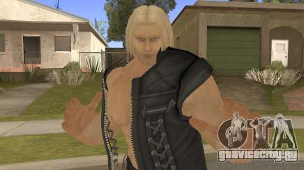 Paul Shortcut Hair with Vendetta Pants V3 для GTA San Andreas