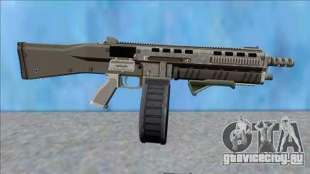 GTA V Vom Feuer Assault Shotgun Platinum V9 для GTA San Andreas