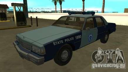 Chevrolet Caprice 1987 Massachusetts S Police для GTA San Andreas