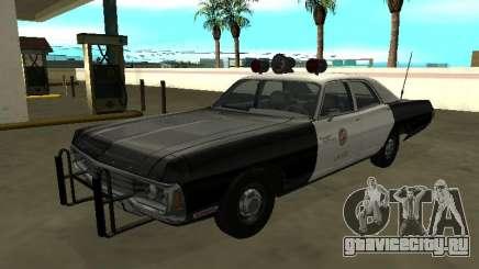 Dodge Polara 1972 Los Angeles Police Dept для GTA San Andreas