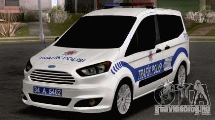 Ford Tourneo Courier Traffic Police для GTA San Andreas
