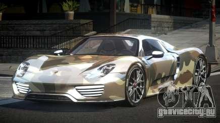Porsche 918 Spyder SR L2 для GTA 4