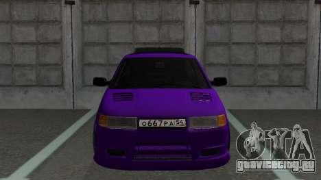 ВАЗ 2110 Тюнинг для GTA San Andreas