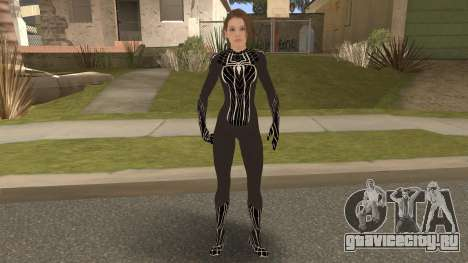 Black Spider Valentine для GTA San Andreas