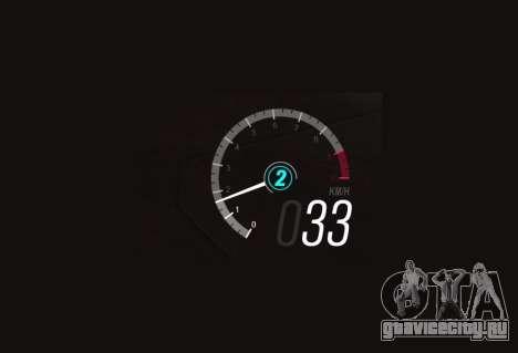 Forza Horizon 3 Speedometer для GTA San Andreas