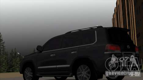 New Lexus LX570 для GTA San Andreas