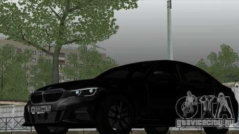 BMW 330i G20 для GTA San Andreas