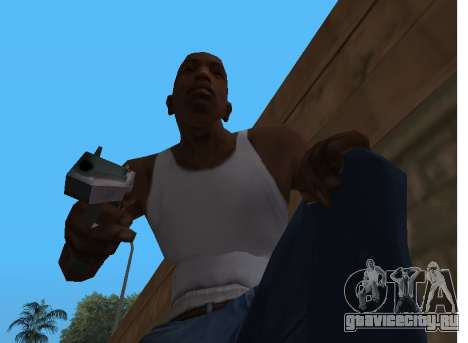 Desert Eagle Re-Style для GTA San Andreas