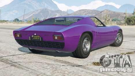 Lamborghini Miura P400 1966