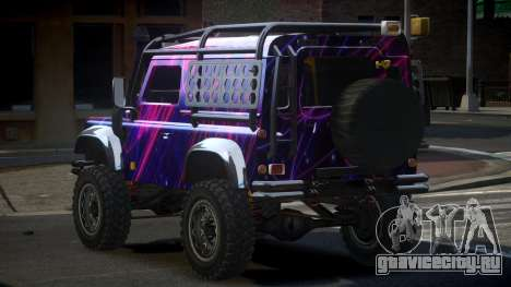 Land Rover Defender Off-Road PJ4 для GTA 4