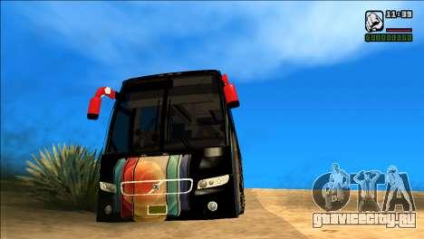 IPHONE 12 VOLVO BUS для GTA San Andreas