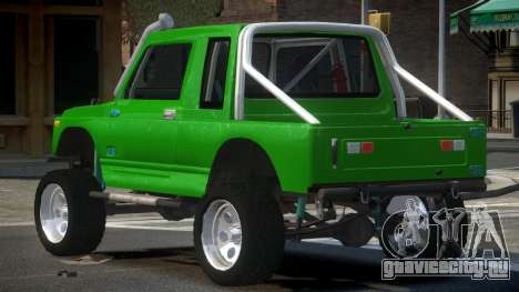 Suzuki Samurai Off-Road для GTA 4