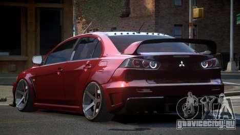Mitsubishi Lancer Evolution X GS Tuned для GTA 4