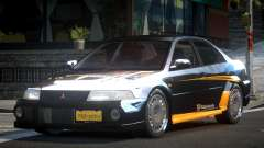 Mitsubishi Evolution VI PSI RC PJ8 для GTA 4