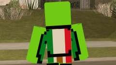Mexican Dream Minecraft Skin для GTA San Andreas
