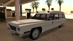Cadillac Fleetwood 1970 Ambulance для GTA San Andreas