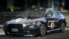 Mitsubishi Lancer X PSI-R L9 для GTA 4