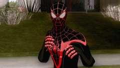 Spiderman Miles Morales Classic Suit для GTA San Andreas