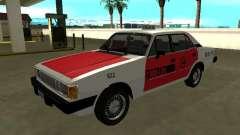 Chev Opala Diplomata 1987 Rádio Taxi da COOPERT для GTA San Andreas