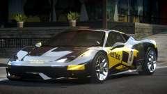 Ferrari 458 PSI-R L7 для GTA 4