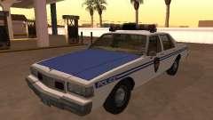 Chevy Caprice 1987 NYPDT Police Versão Editada для GTA San Andreas