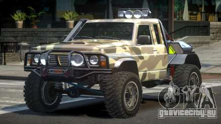 Nissan Patrol Off-Road L3 для GTA 4