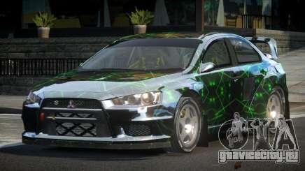 Mitsubishi Lancer Evo-X SP-G PJ3 для GTA 4