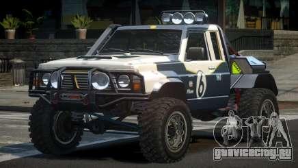 Nissan Patrol Off-Road L10 для GTA 4