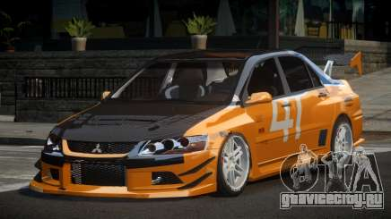 Mitsubishi Lancer IX SP Racing L4 для GTA 4