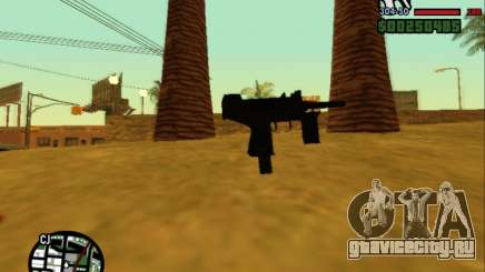 Micro Uzi Re-Style для GTA San Andreas