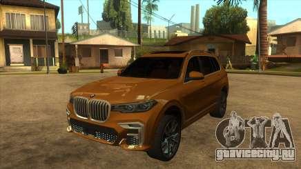 BMW X7 M50D для GTA San Andreas