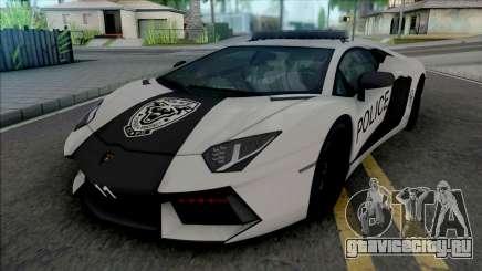 Lamborghini Aventador LP700-4 Police Rio для GTA San Andreas
