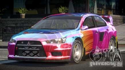 Mitsubishi Lancer Evo-X SP-G PJ5 для GTA 4