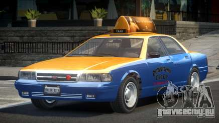 Vapid Stanier 2nd Gen Downtown Cab для GTA 4