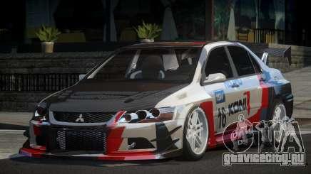 Mitsubishi Lancer IX SP Racing L3 для GTA 4
