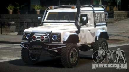 Land Rover Defender Off-Road PJ1 для GTA 4