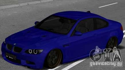 BMW M3 E92 Low для GTA San Andreas